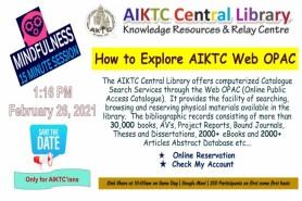How to explore AIKTC Web